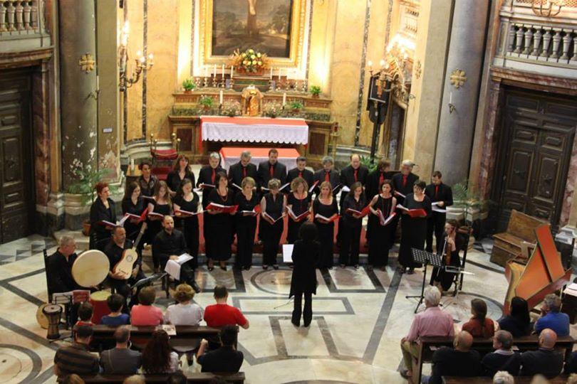 Il Coro Meridies in Concerto a Via Giulia - Giugno 2013